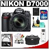 Nikon D7000 Digital SLR Camera & 18-105mm VR DX AF